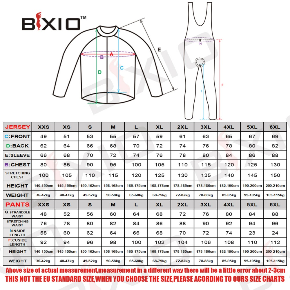 Image 5 - BXIO 2019 Pro Winter Thermal Fleece Woman Cycling jerseys Sets MTB Wear Bike Wear Clothing Ciclismo Long Sleeve Bicycle 125-in Cycling Sets from Sports & Entertainment