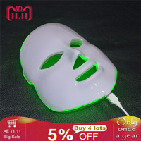 7 Colors Beauty Therapy Photon LED Facial Mask Light Skin Care Rejuvenation Wrinkle Acne Removal Face Beauty Spa Instrument 30