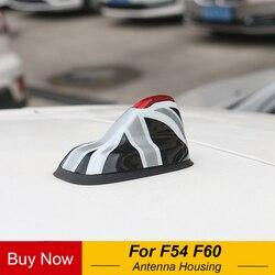 Base para antena de coche decoración funda carcasa Calcomanía para Mini Cooper One S JCW F54 Clubman F60 countyman accesorios de coche