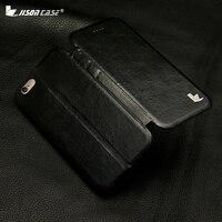Jisoncase smart cover voor iphone 6 6 s plus case pu lederen luxe met magnetische mobiele telefoon case voor iPhone 6 s 6 plus 5.5 cover