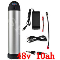 48V 10Ah Li ion Water Kettle Battery water bottle battery for electric bicycle e bike bike battery with BMS and charger