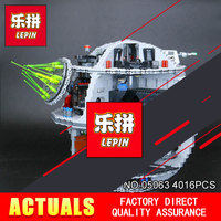 LEPIN 05063 Star Wars Death Star 4016pcs Building Block Bricks Toys Kits Compatible With Legeod 75159
