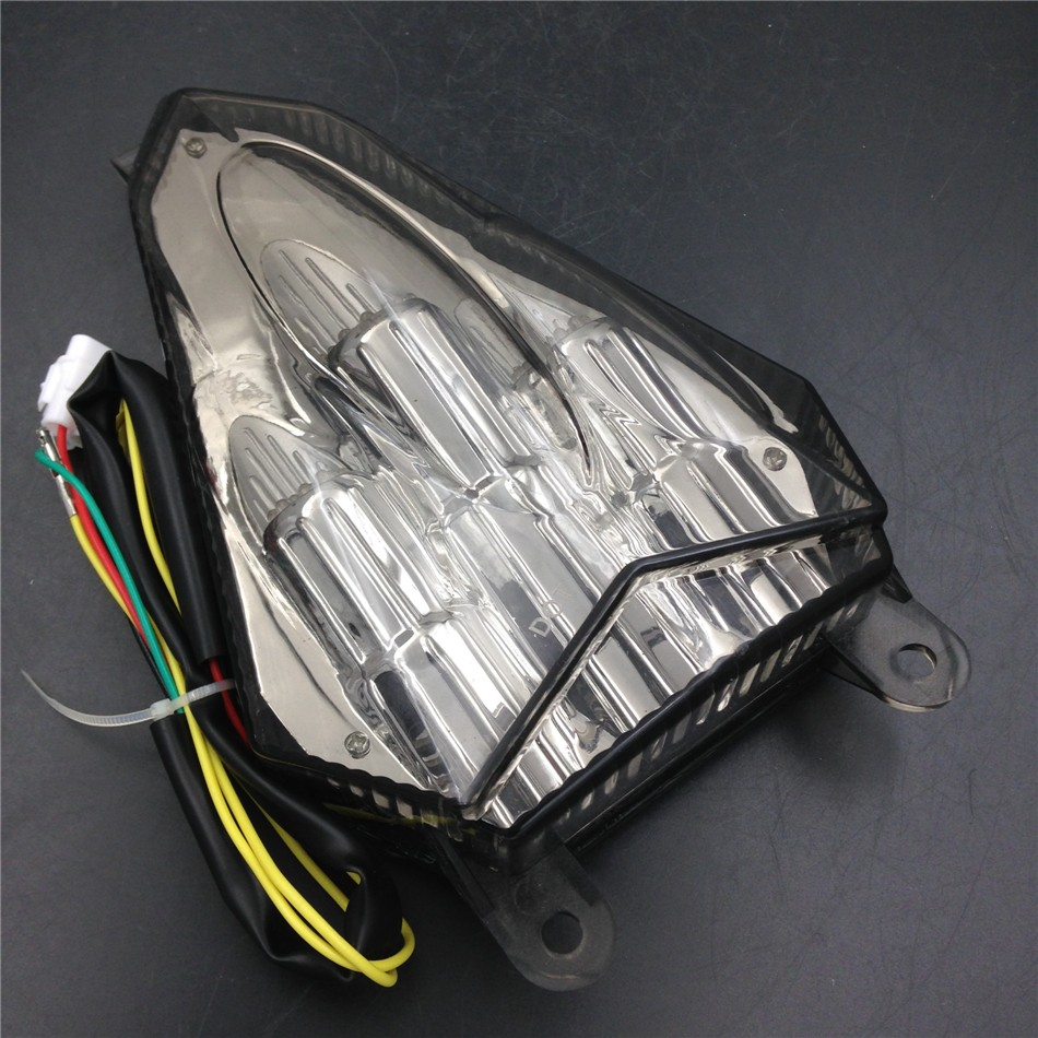 Aftermarket free shipping tail light motorcycle LED Tail Light for 2006 2007 2008 2009 2010 2011 2012 YZF R6 YZF-R6 Smoke aftermarket free shipping motorcycle parts eliminator tidy tail fit for 2006 2012 yzf r6 yzf r6 yzfr6