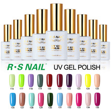 R.S 15 ml uv gel nail polish set unhas de gel beruntung set nail gel nail lacquers pernis lem esmaltes permanentes de uv
