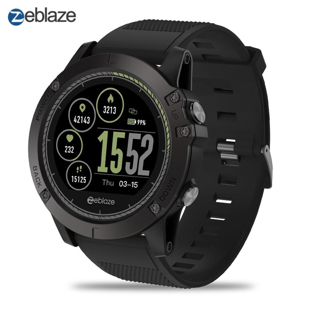 NOUVEAU Zeblaze VIBE 3 RH Sport Montre Smart Watch Bluetooth 4.0 IP67 Étanche Message D'appel Rappel Moniteur de Fréquence Cardiaque Sang Pression