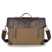 Hot Sale Designer Brand Men Messenger Bags Man's Casual Vintage Canvas Collocation Leather For Men Crossbody Shoulder Bag hot sale kaukko menthick canvas travel shoulder bags vintage unique messenger bags man cross body bag kaukko canvas leather