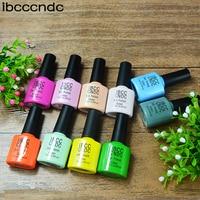 IBCCCNDC Nail Gel Set Long Lasting Gel Lacquer Nail Art Colorful Soak Off Varnish Cheap Manicure