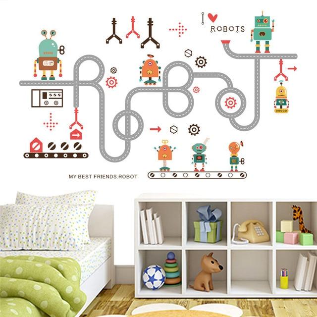 Aliexpresscom Comprar  De dibujos animados Robot Camino DIY DIY