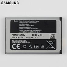 Samsung Original Replacement Battery AB463651BC For Samsung L700 W559 S5628 C3222 B3410 F339 J800 S3650 S7070 S5608 S3370 960mAh samsung original replacement battery ab463651bu for samsung w559 s5620i s5630c s5560c c3510 f339 j800 genuine battery 960mah