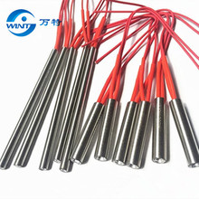 Free shipping 16*62mm Heater Length AC 380V 300W Electric Cartridge Heater Heating Element 20pcs free shipping stainless steel double u shaped heating tube element 380v 6kw electric water heater pipe