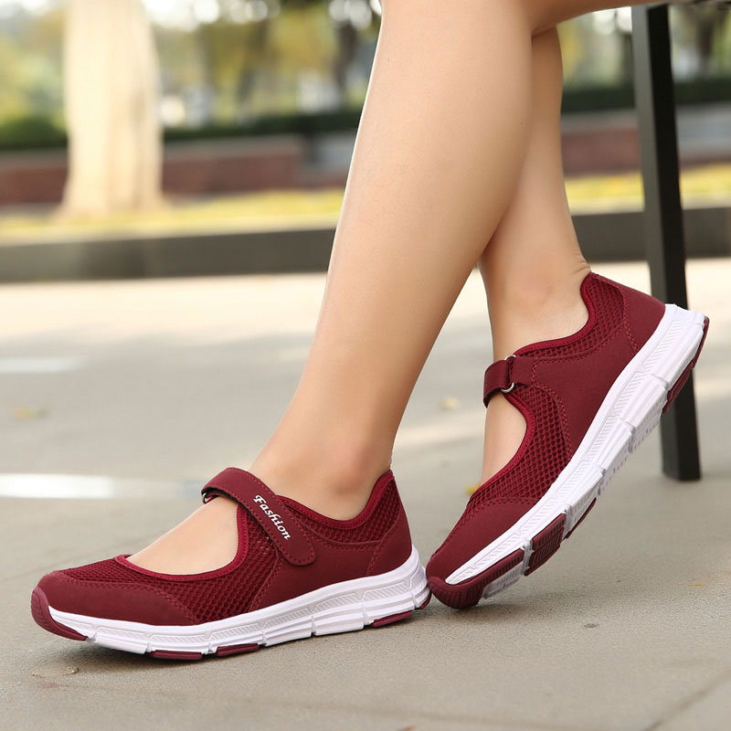 MWY Summer Sneakers Fashion Shoes Woman Flats Casual Mesh Hook Loop Flat Shoes Designer Female Loafers Shoes zapatillas mujer renben air mesh women casual shoes fashion flats walking loafers female shoes woman breathable summer shoes zapatillas mujer