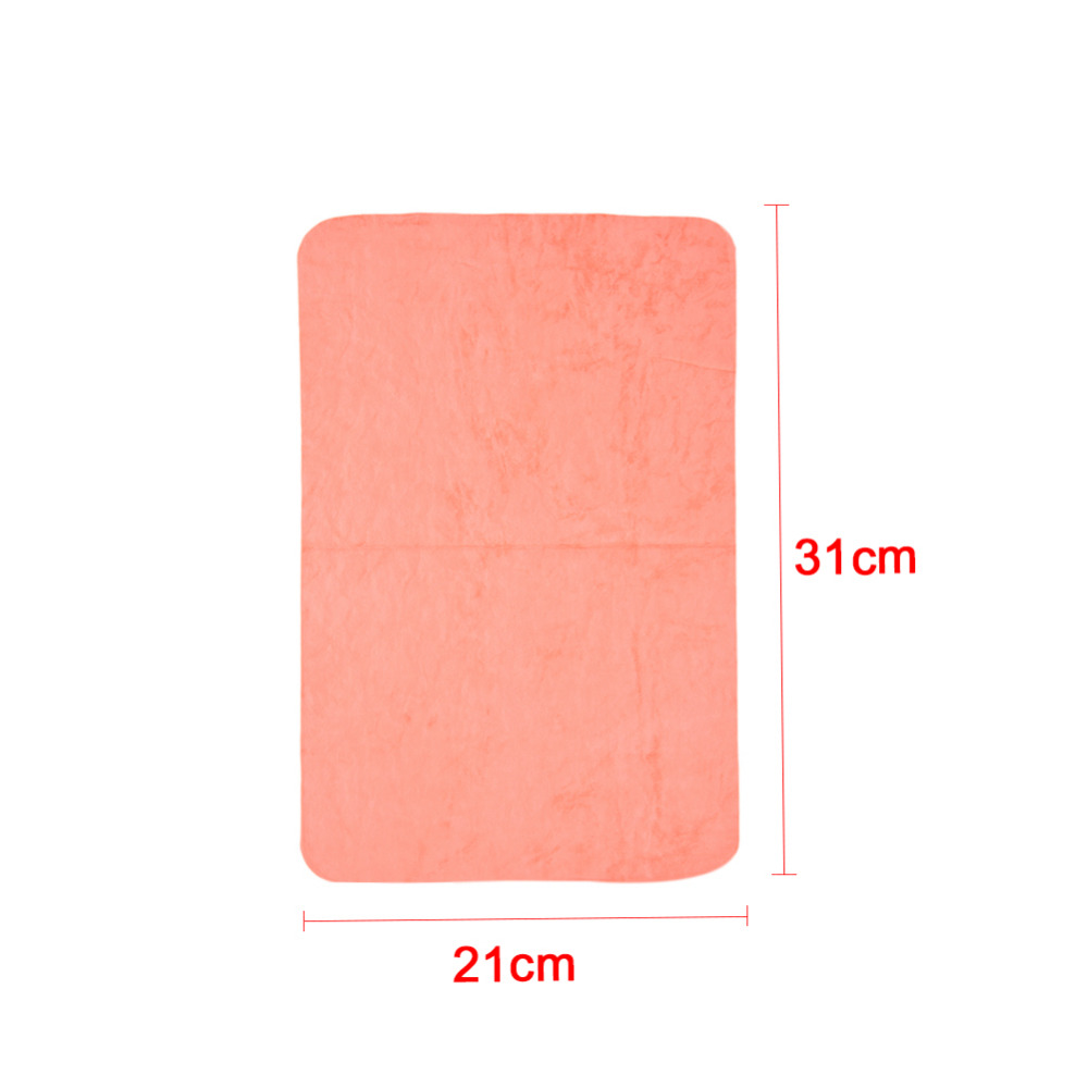 Small Pet Animal Absorbent Towel With Anti-mildew /anti-bacterial Effect For Hamster Guinea Pig Small Pet Clean Accessories #2