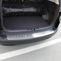 עבור הונדה crv crv איכות גבוהה כרום נירוסטה אחורי Bumper משמר פלייט (Bottom) עבור הונדה CRV CRV 2012 2013 (3)