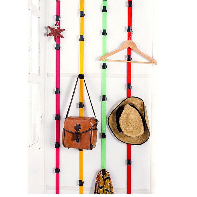 Adjustable Space Saving Baseball Cap Hat Rack Holder Organizer Storage Door  Closet Hanger Hot