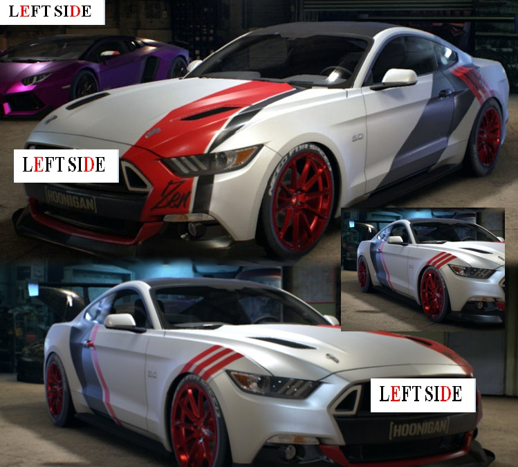 Left side car stickers custom made accessories car styling car door stickers fleet color change vinyl sport sticker decals in car stickers from automobiles