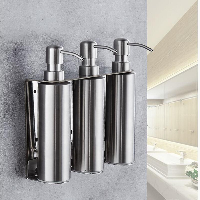 Soap Dispenser Wall Mounted Bathroom Hand Liquid Soap