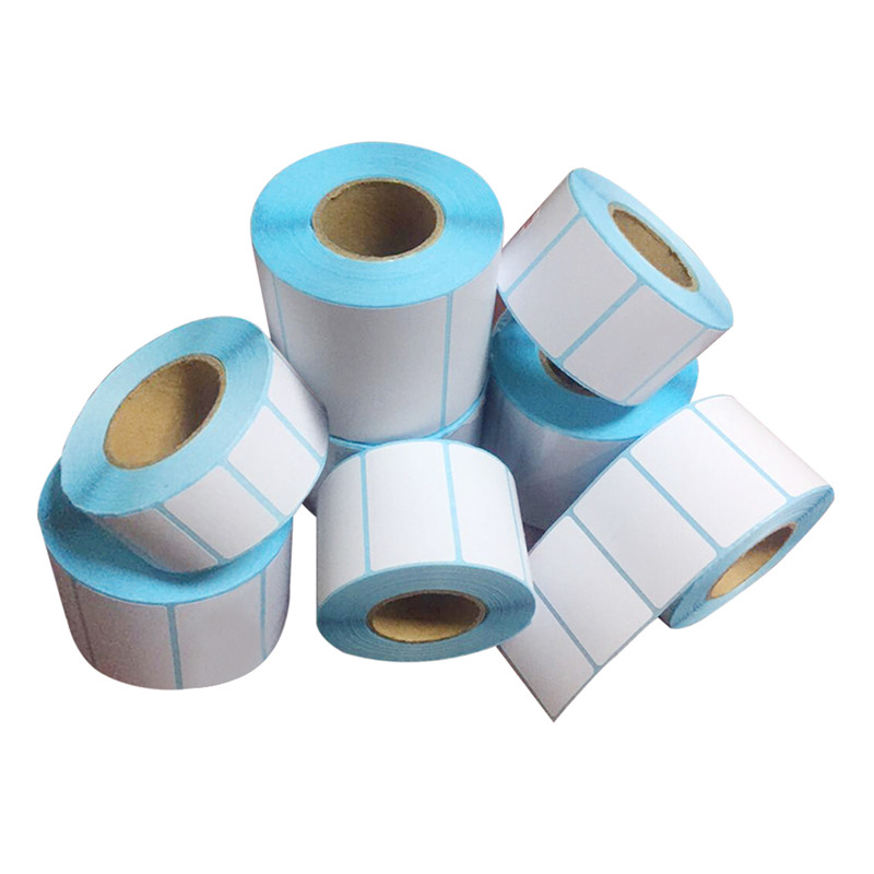 Wholesale 1roll Thermal Label Paper 30x60mm 500sheets Waterproof Barcode Printing Paper Paper Bar Code Label Printing Paper