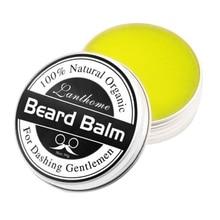 Мужской натуральный воск для волос борода бальзам органический кондиционер для бороды оставьте в укладке увлажняющий эффект средства ухода за бородой NewS1