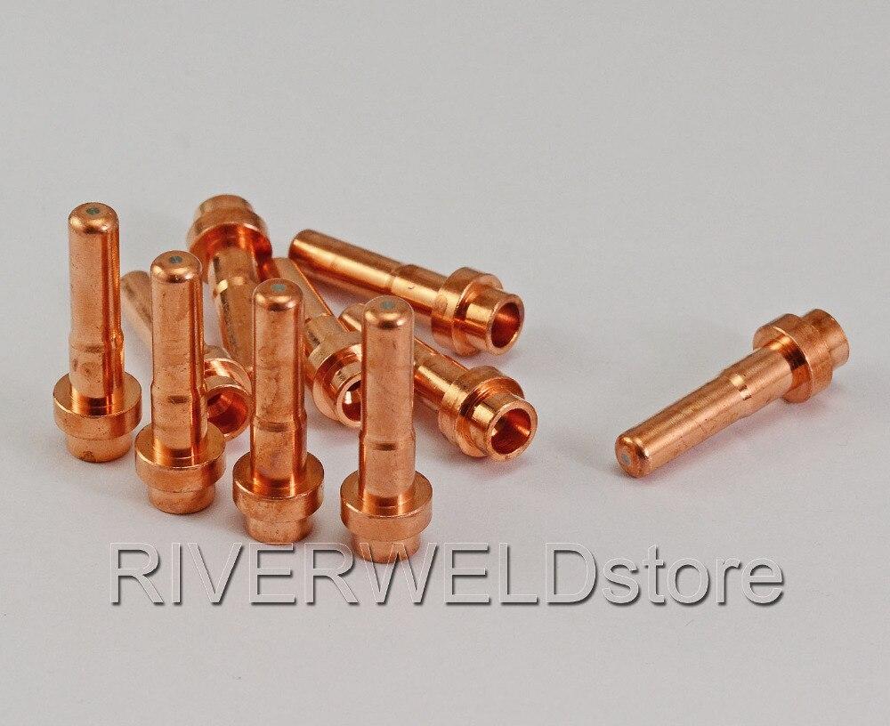Plasma Electrode Long Fit CEBORA CP-50 P50 CB50 Plasma Torch,10PK PR0065 C1518