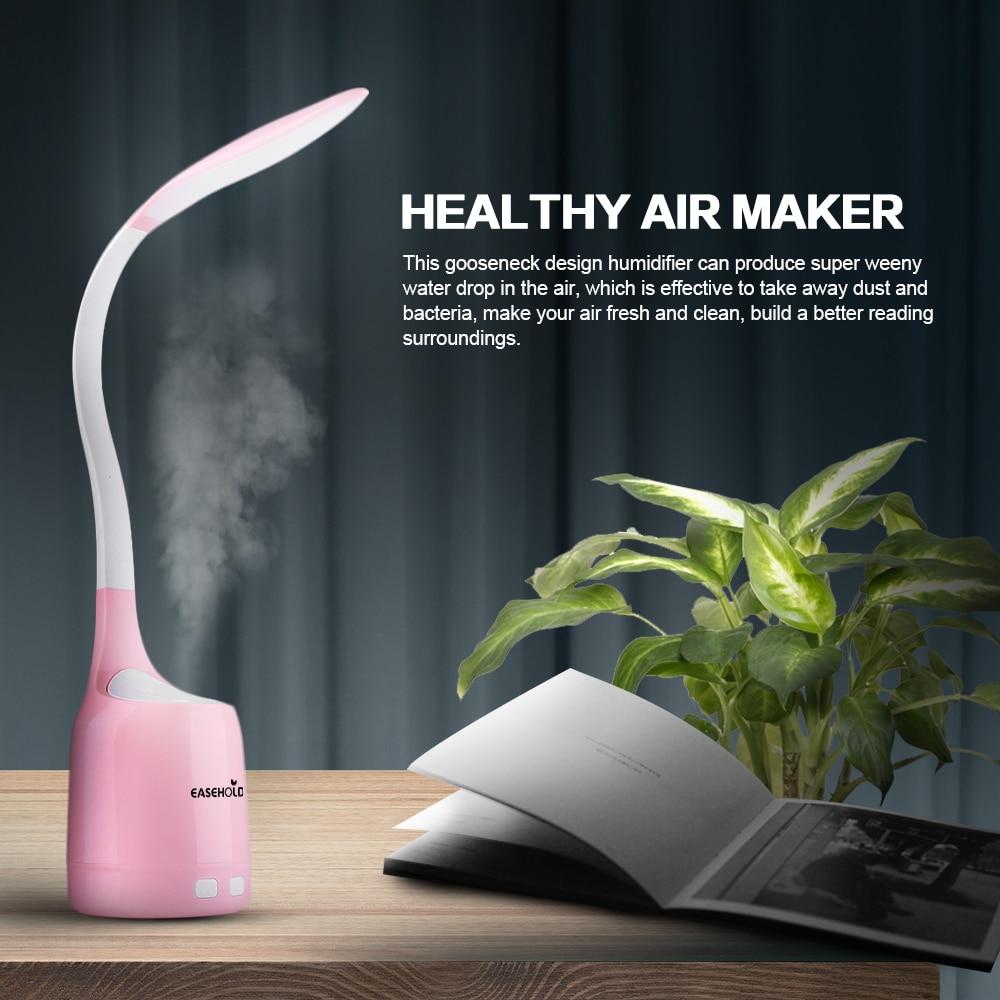 EASEHOLD Freiraum 160ML LED Schreibtischlampe Luftbefeuchter - Haushaltsgeräte