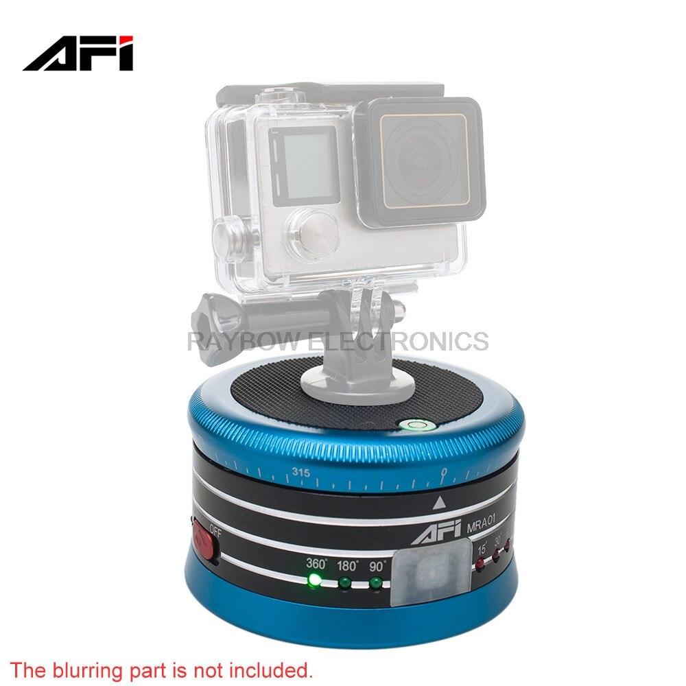 AFI MRA01 Electric aluminum alloy ishoot panoramic tripod camera ball head for GoPro Action mirrorless Camera