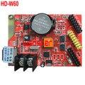HD-W60 1 * HUB08 2 * HUB12 512*32 USB + WI-FI СВЕТОДИОДНЫЙ дисплей платы управления Single & Dual LED система управления HD W60