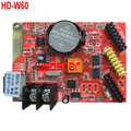 HD-W60 1*HUB08 2*HUB12 512*32 USB+WIFI LED display control card Single & Dual Color LED control system HD W60