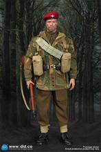 Scale 1/6 K80136 /K80135 action figure WWII British Airborne Red Devils Sergeant commander Uniform Military toy Soldiers set