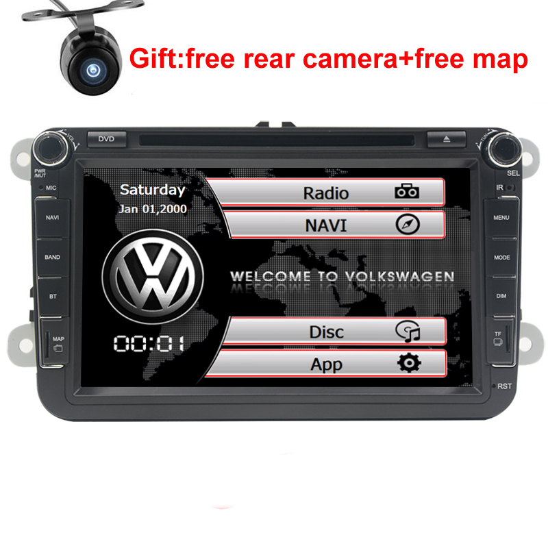 8 Android DVD Navigation Touchscreen Multimedia Radio for 2010 Volkswagen Eos