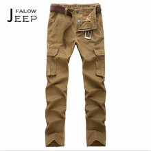 Falow AFS JEEP Autumn Leg Pockets Cotton Material Mid Waist Pant,Hero Men Motorcycle Overall,Full Length Motorcycle pantalones