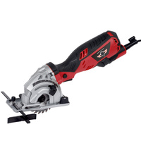 HEPHAESTUS 600W Mini Circular Saw with 3 Blades, Dust Passage, Allen Key,Electric Saw For Cutting Wood,PVC Tube,Plastics,Tile