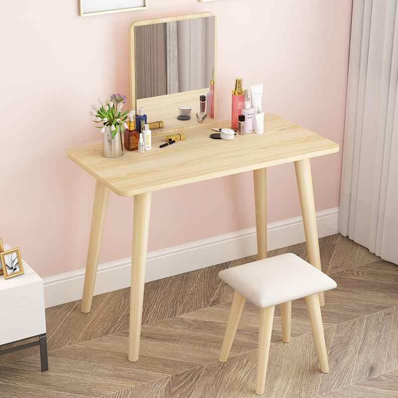 European Ins Net Red Bedroom Dressing Table Small Apartment Simple