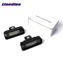 Liandlee For Mercedes Benz S Class W220 1999~2005 / LED Car License Plate Light / Number Frame Lamp / High Quality LED Lights стоимость