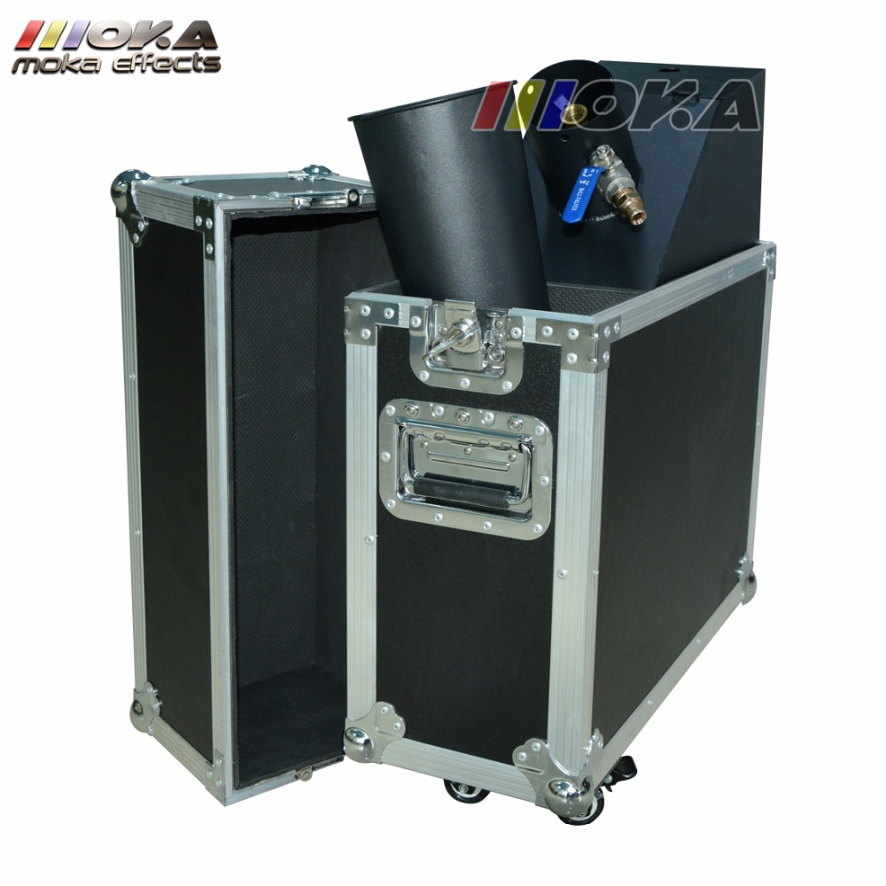 Image 3 - 1pcs/lot stage co2 confetti machine stage effect confetti cannon hand control co2 blaster jet 10m Flight case packing-in Stage Lighting Effect from Lights & Lighting