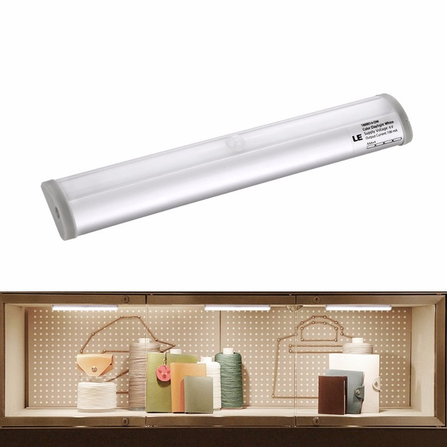 Amazing LE Under Cabinet Lighting,Motion Sensor Light,Battery Powered,Stick On  Anywhere