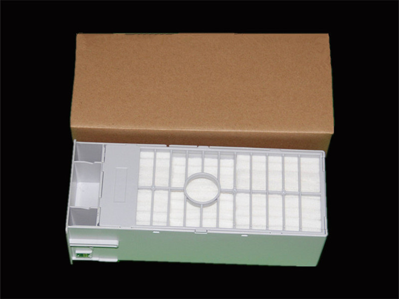 Maintenacne tank with one time use chip For Epson P6000/P7000/P8000/P9000 wide format printer waste Ink Tank the newest 5 serial number chip for epson p8000 one time use chip with 9colors in 700ml
