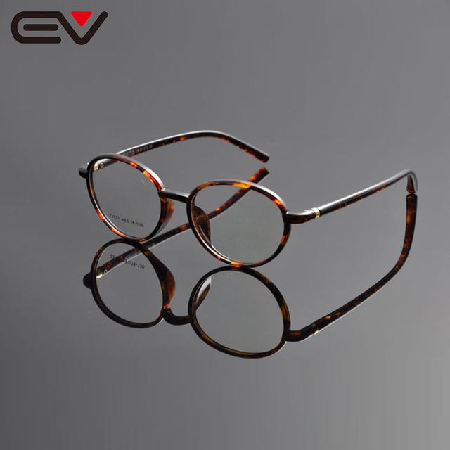 Armações de Óculos de olho Para As Mulheres Homens Rodada Óculos de Armação TR90 Armação dos óculos Óculos Óculos Frames Gafas Monturas De EV1153
