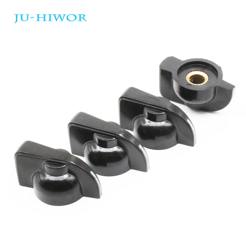 5pcs/lot ASS Knob K7-1 Bakelite Mounting Hole 6MM For Rotary Potentiometer & Encoder & Rotary Switch