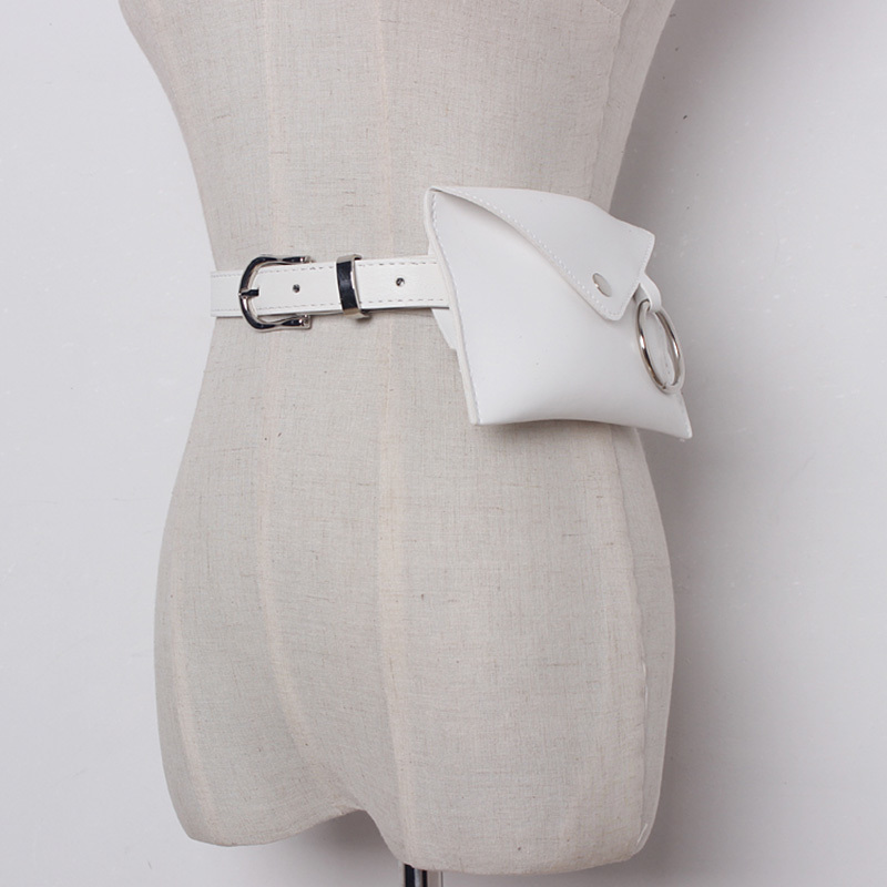TWOTWINSTYLE 2019 PU Leather Woman Belt Multiple Colour Bag Female Delts Sweets Clothing Accessories Fashion Korean