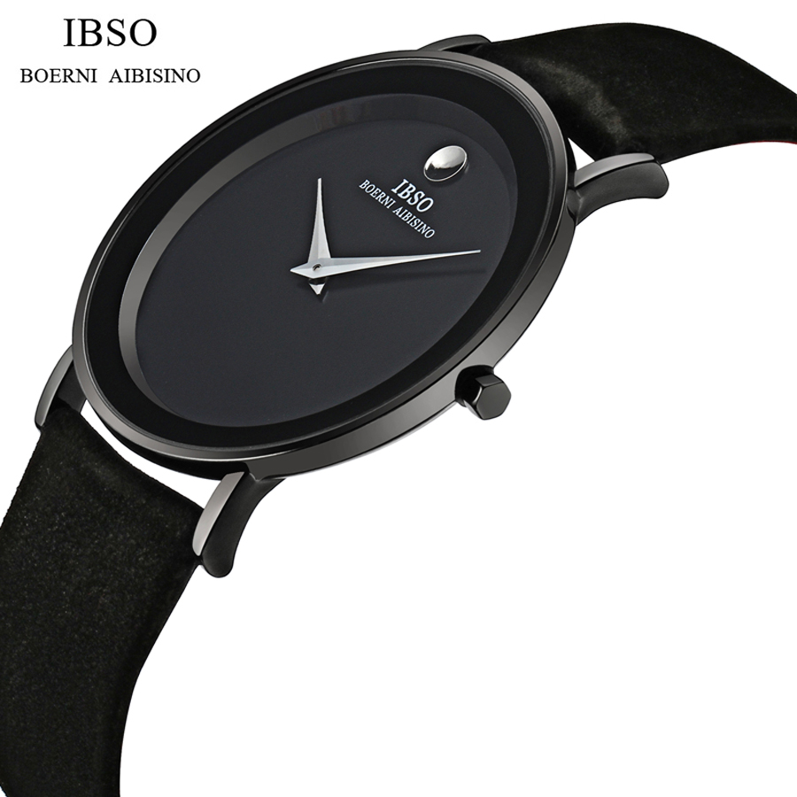 Reloj Hombre IBSO Top Luxury Brand Simple Fashion Casual Business Watches Men Waterproof Quartz Mens Watch relogio masculino reloj hombre top brand luxury simple fashion casual business watches men date waterproof automatic mens watch relogio masculino