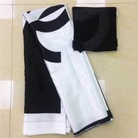 YBG!imitated silk fabric high quality 2018 african fabric wholesale soft silk fabric for dress african print fabrics ! P62210