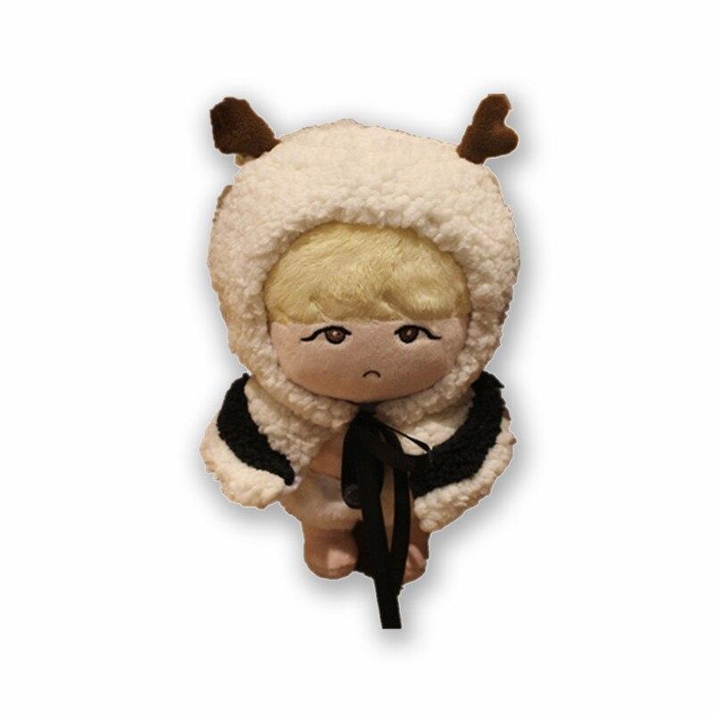 KPOP BTS Idol Bangtan Boys SUGA Min Yun Ki 22 cm/8in Gefüllte Puppe Charakter Plüsch Spielzeug Fan- made Handwerk Sammlung