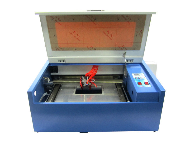 3040 50W CO2 laser engraver with 50W laser tube honey comb and rotary axis цены онлайн