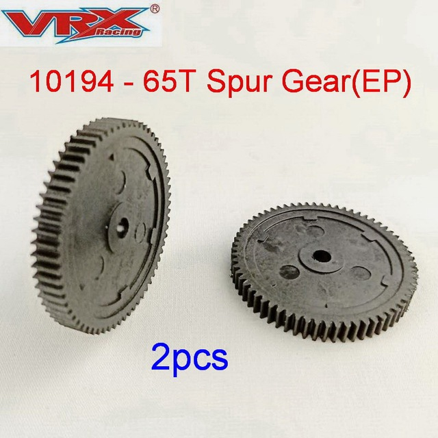Toys for children rc car parts,10194 Spur Gear 65T (EP),fit VRX Racing 1/10 scale 4WD rc car, remote contol Toys car accessories