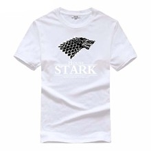 ФОТО hot sale game of thrones home yuanhuijia  winter lettering it's coming hot summer sale t-shirt 2018 100% cotton t-shirt top s-2x