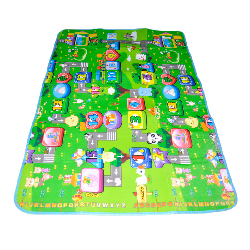 Funny Activity children puzzle mat baby for kids room carpet rug blanket learning educational toys for boys girls gifts 10