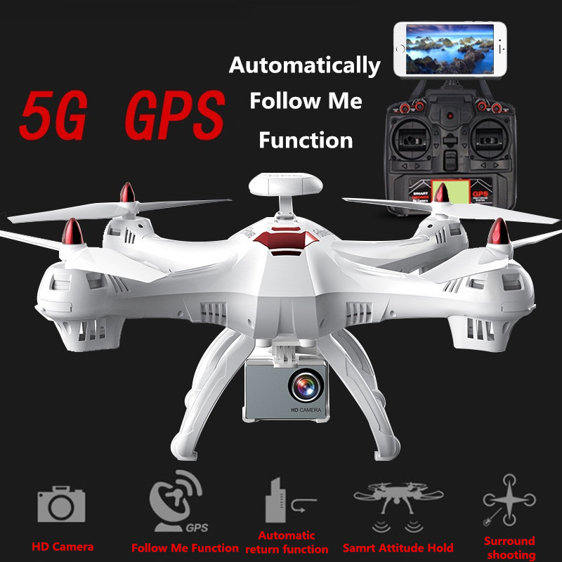 Large <font><b>GPS</b></font> <font><b>X183</b></font> upgrade Professional <font><b>follow</b></font> me WIFI FPV RC <font><b>drone</b></font> 5G 400M Surround shooting attitude hold with 720P/1080P X8PRO image