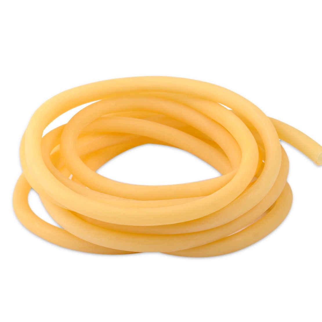9 mm Fitness Bungee Elastic Rope Fitness Pull Tube zrshygs 3m Tubo de l/átex Natural 6 Amarillo