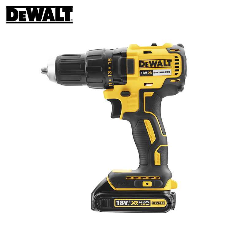 18V Brushless Drill/Driver DeWalt DCD777S2T-QW new 18v mini drill set mini drill grinder kit micro drill electric grinding suit us standard free shipping ng4s