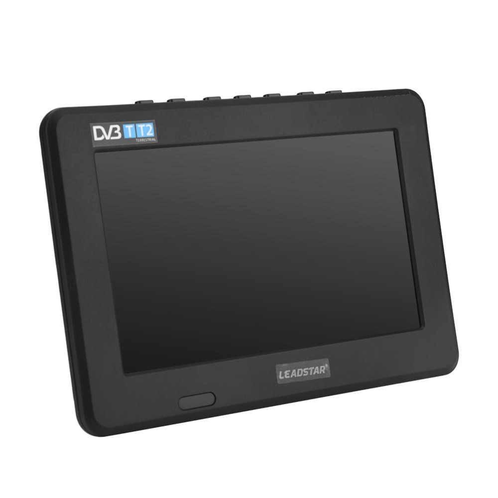 Leadstar 7 дюймов DVB-T-T2 16:9 HD цифровой аналоговый Портативный ТВ Цвет телевизионный проигрыватель для дома автомобиля для штепсельная вилка европейского стандарта